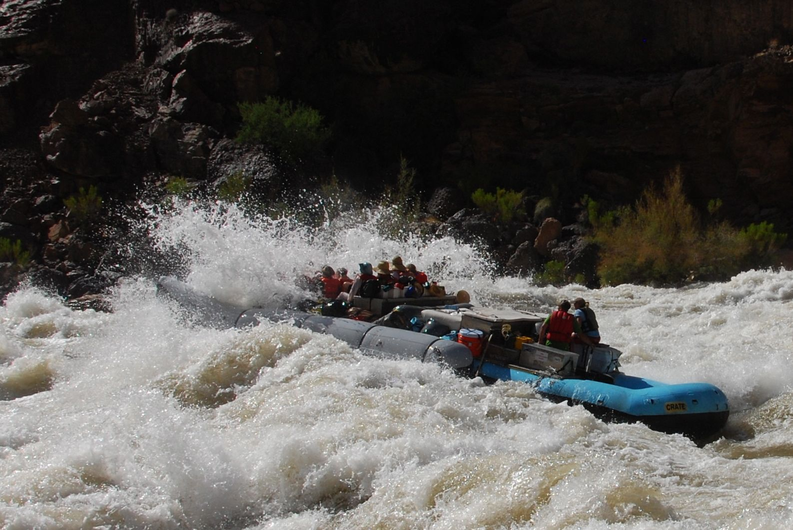 Grand Canyon Rafting on the Colorado River