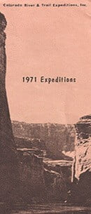 Crate 1971 Expedition Brochure
