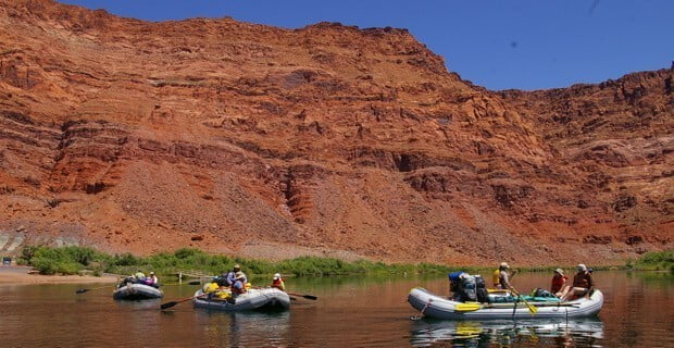 Another Awesome Day on the Colorado River