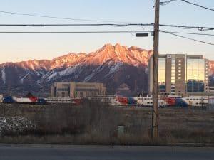 View from Murray Utah