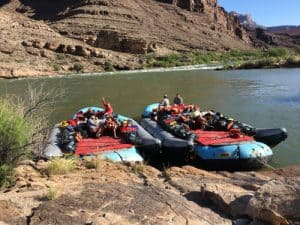 Colorado River & Trail Expeditions Rafts