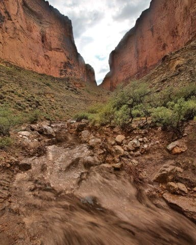 Saddle Canyon Flood