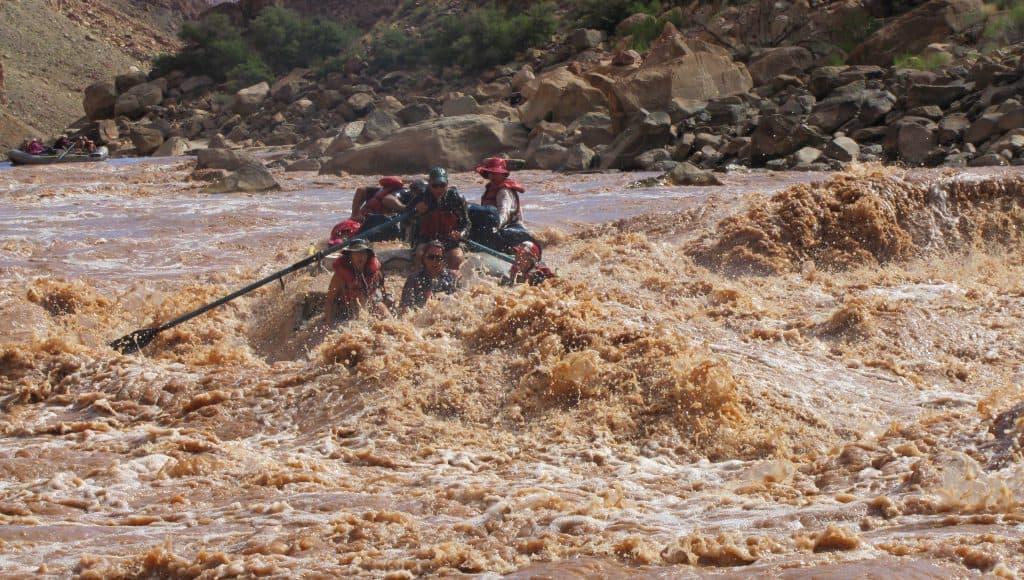 Big Drop 2 rapid Cataract Canyon