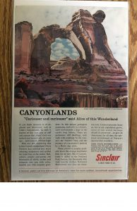 Canyonlands advertisement