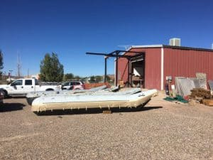 Side tubes for grand canyon rafting