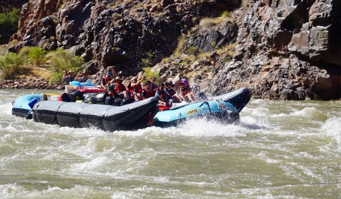 rafting 235 mile rapid Grand Canyon