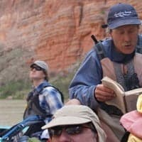 Reading on Grand Canyon Rafting trip