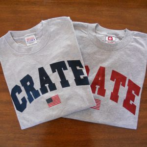 CRATE Flag T-Shirt