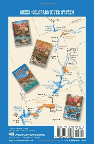 Back cover of desolation Canyon Guide Book