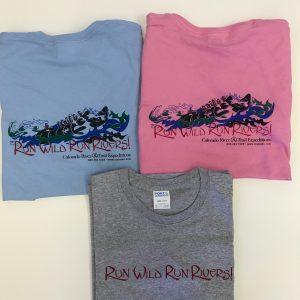 Run Wild Run Rivers Women's T-Shirt