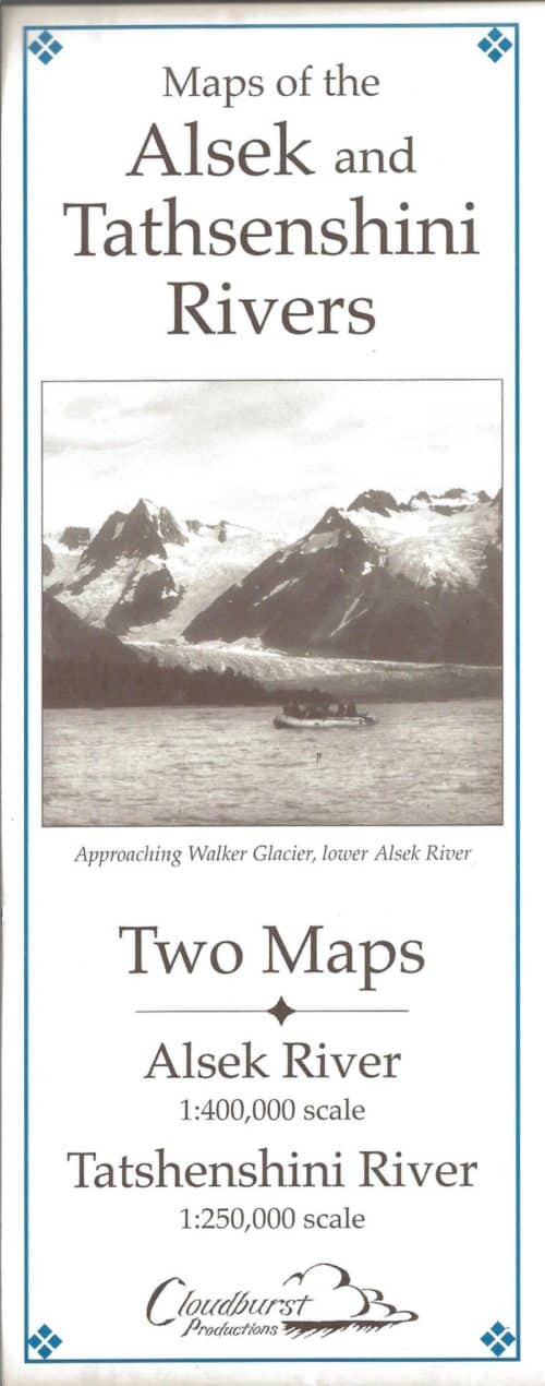 Maps of the Alsek and Tatshenshini Rivers