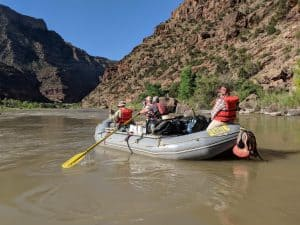 Green River 5 Day row Rafting Trip