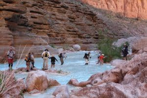 Hiking in Havasu Canyon