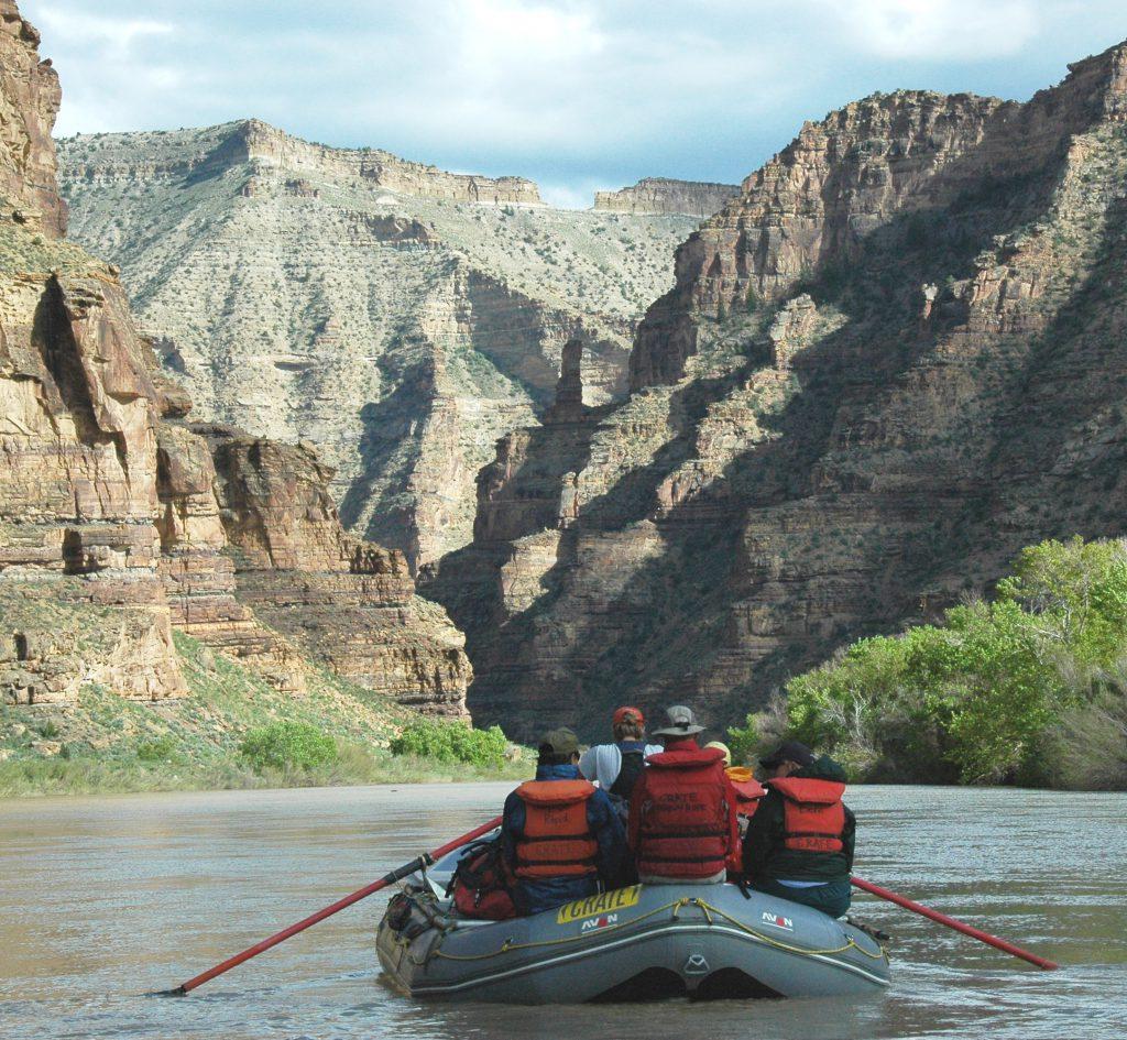 Entering Desolation Canyon on the Green River