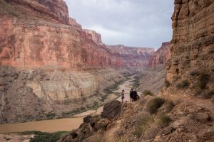 The grand canyon is giant in size.