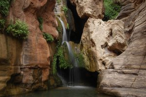a photo of elves chasm in Grand Canyon National Park