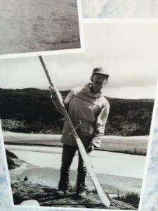 old oar at Marble Creek Kluane National Park