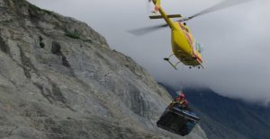 Helicopter Portage Turnback Canyon