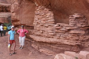Ancestral Puebloan Ruins along the Colorado River.