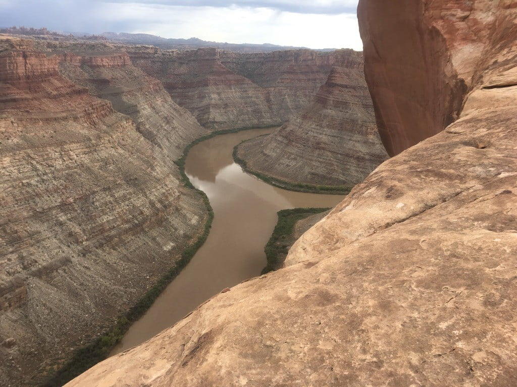The Confluence of the Green and Colorado River