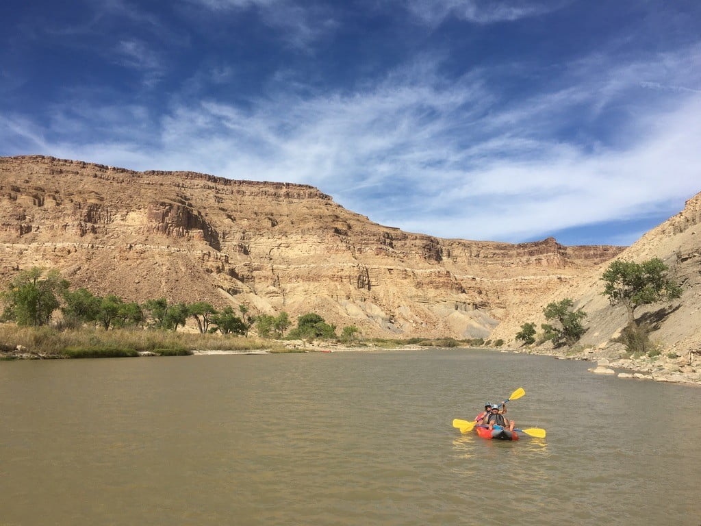 Green River one day Rafting