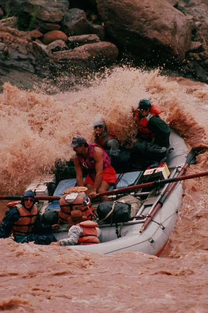 Dave Brown in Crystal Rapid