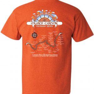 Grand Canyon Map T-Shirt