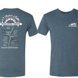 Desolation Canyon Map T-Shirt
