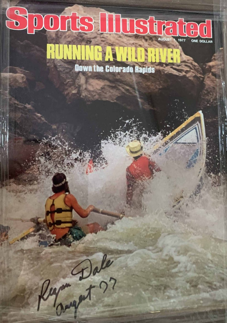 Sports Illustrated's Best Whitewater River Running Issues-Grand Canyon and Alsek River