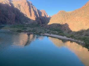 Colorado River at Bright Angel Creek