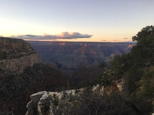 View of Sunset From South Rim