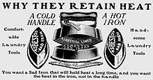 asbestos Iron advertisement
