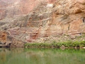 Temple Butte Limestone Devonian River Bed