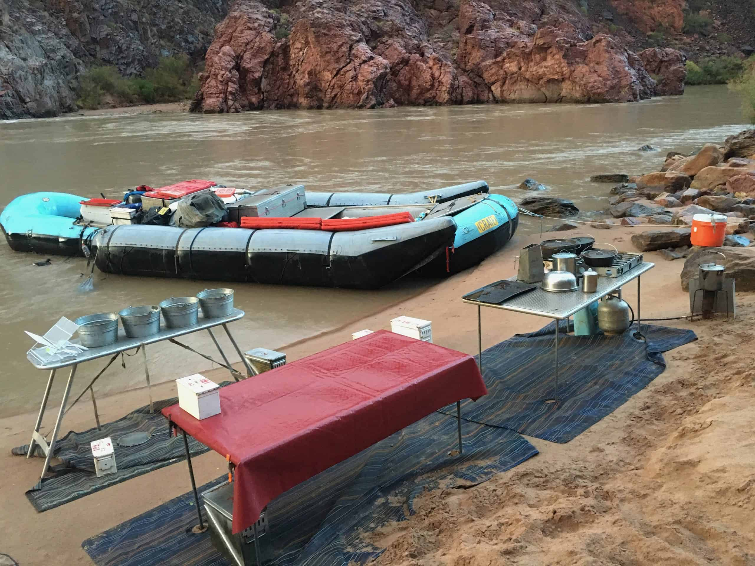 What is Camping Like on a River Trip?