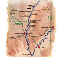 Desolation Canyon Map