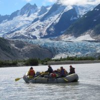 Alaska River Trip near Walker Glacier
