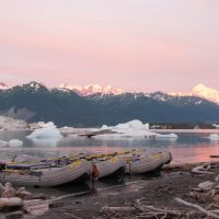 Alaska Rafting Trip Mount Fairweather