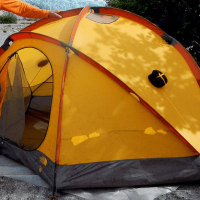 VE-25 Tent Alaska rafting trip