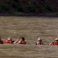 floating on the Green River